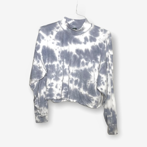 Wild Fable tie dye high neck pullover